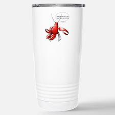 Lobster Comics Travel Mug