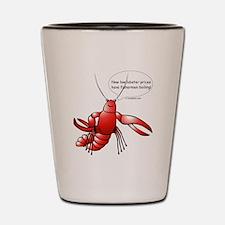 Lobster Comics Shot Glass
