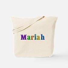 Mariah Shiny Colors Tote Bag