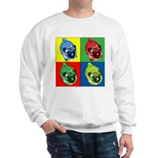 Cute Pug Sweatshirt