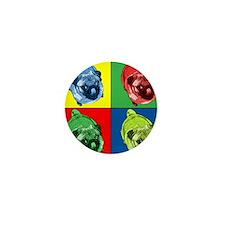 Color Mini Button