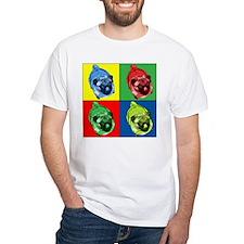 Warhol-esque pug T-Shirt