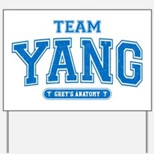 Grey's Anatomy Team Yang Yard Sign