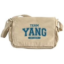 Grey's Anatomy Team Yang Canvas Messenger Bag
