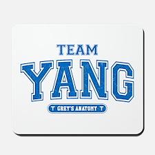 Grey's Anatomy Team Yang Mousepad