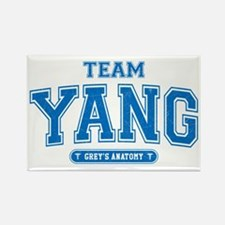 Grey's Anatomy Team Yang Rectangle Magnet