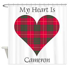 Heart - Cameron Shower Curtain
