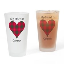 Heart - Cameron Drinking Glass
