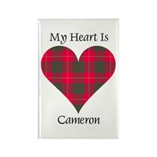 Heart - Cameron Rectangle Magnet