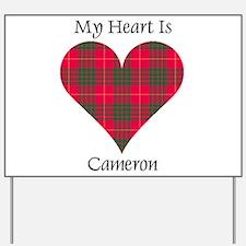 Heart - Cameron Yard Sign