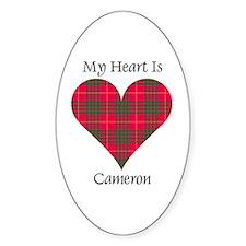Heart - Cameron Decal
