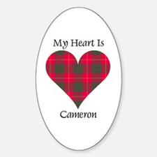 Heart - Cameron Decal