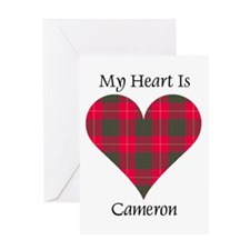 Heart - Cameron Greeting Card