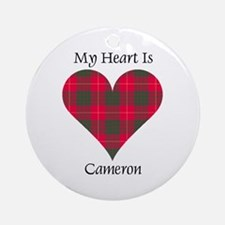 Heart - Cameron Ornament (Round)