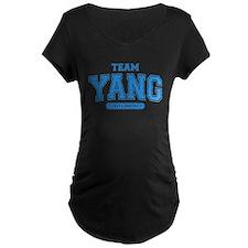 Grey's Anatomy Team Yang Dark Maternity T-Shirt