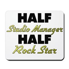 Half Studio Manager Half Rock Star Mousepad