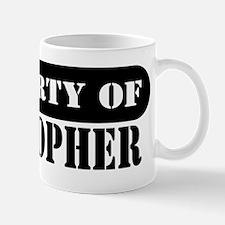 Property of Kristopher Mug