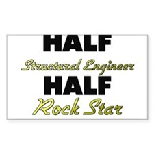 Half Structural Engineer Half Rock Star Decal