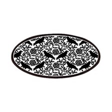 Raven Pattern Patches