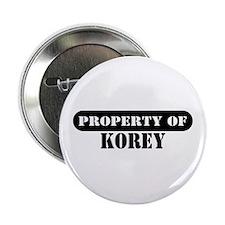 Property of Korey Button