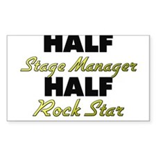Half Stage Manager Half Rock Star Decal