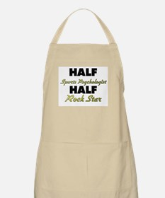 Half Sports Psychologist Half Rock Star Apron