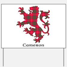 Lion - Cameron Yard Sign