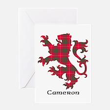 Lion - Cameron Greeting Card