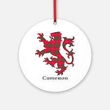 Lion - Cameron Ornament (Round)