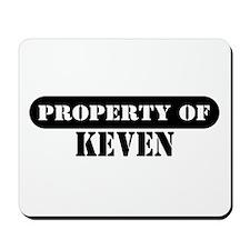 Property of Keven Mousepad