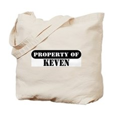 Property of Keven Tote Bag