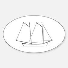 Mackinaw Boat Decal