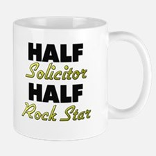 Half Solicitor Half Rock Star Mugs