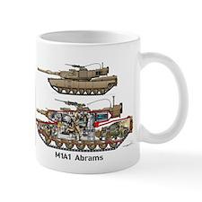M1A1 Abrams MBT Martin Mug