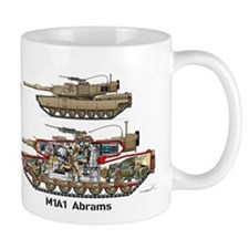 M1A1 Abrams MBT George Coffee Mug