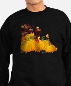 Autumn Pumpkins Sweatshirt (dark)