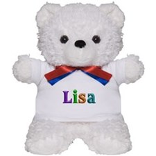 Lisa Shiny Colors Teddy Bear