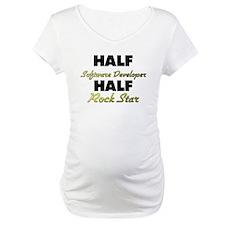 Half Software Developer Half Rock Star Shirt