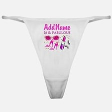 SNAZZY 16TH Classic Thong