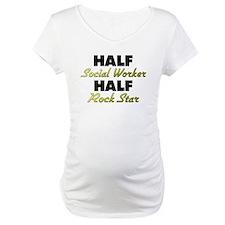 Half Social Worker Half Rock Star Shirt