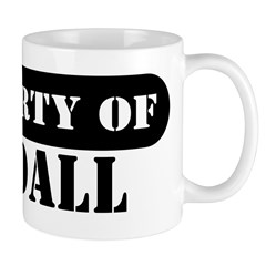 Property of Kendall Mug