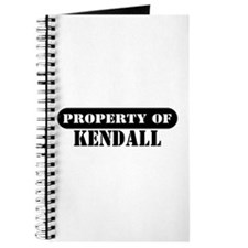 Property of Kendall Journal