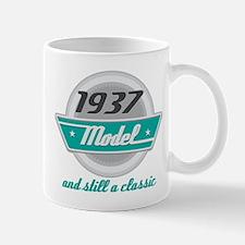 1937 Birthday Vintage Chrome Small Small Mug