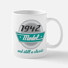 1942 Birthday Vintage Chrome Mug