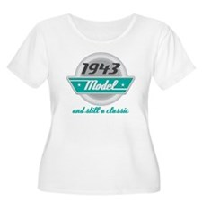 1943 Birthday Vintage Chrome T-Shirt