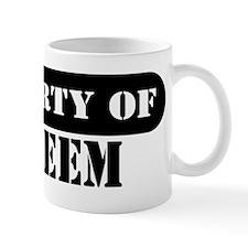 Property of Kareem Mug