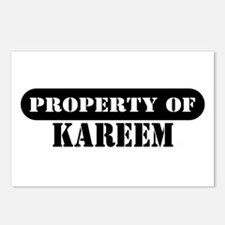 Property of Kareem Postcards (Package of 8)