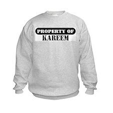 Property of Kareem Sweatshirt