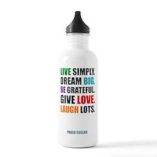 Paulo Coelho quote Water Bottle