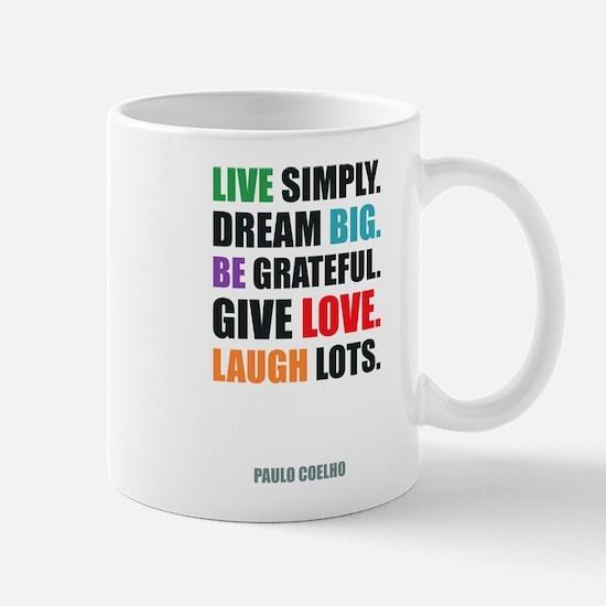 Paulo Coelho quote Mugs